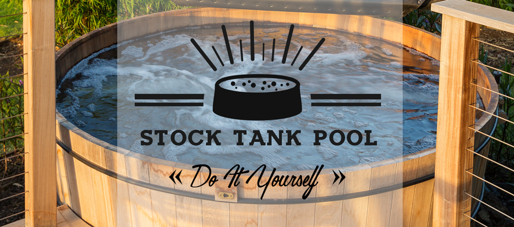 Easy diy stock tank pool galvanized stock tank pool build for How to make a pool out of a stock tank