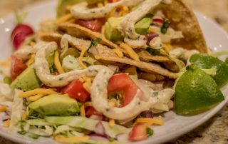 Lorie's Cod & Red Snapper Fish Tacos