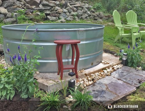 Stock Tank Hot Tub (Wood Fire)