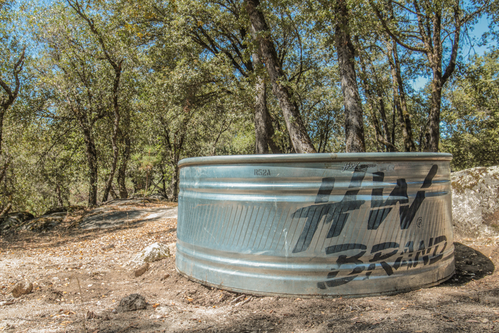 Stock Tank Pool for Kids