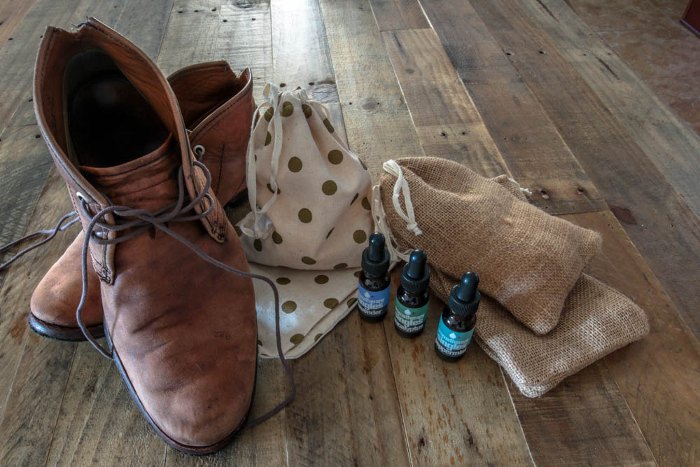 DIY Shoe Pourri - For Mens Boots