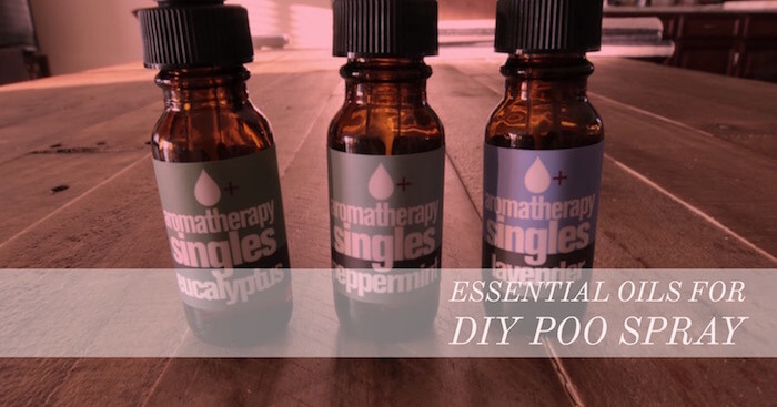 Organic Essential Oils for poop spray