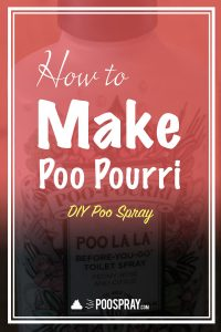 How To Make Your Own Poo Pourri