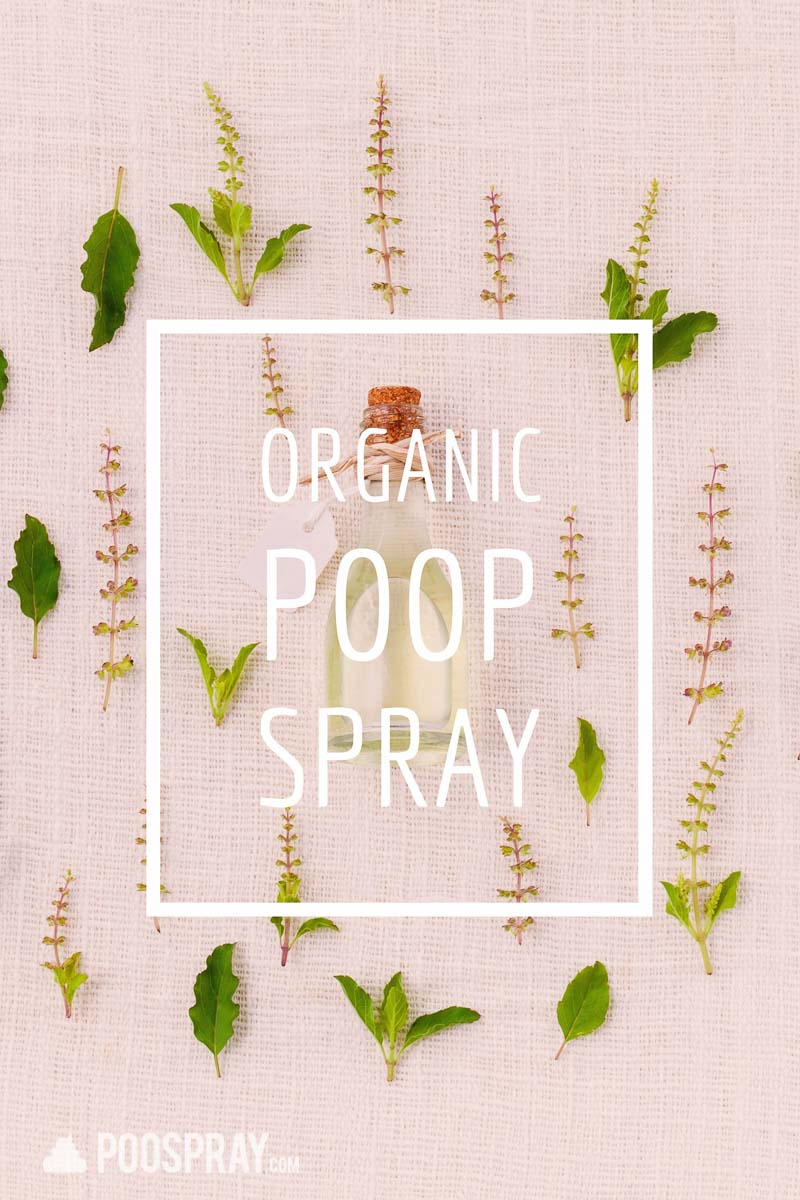 Natural and Organic Poop Spray
