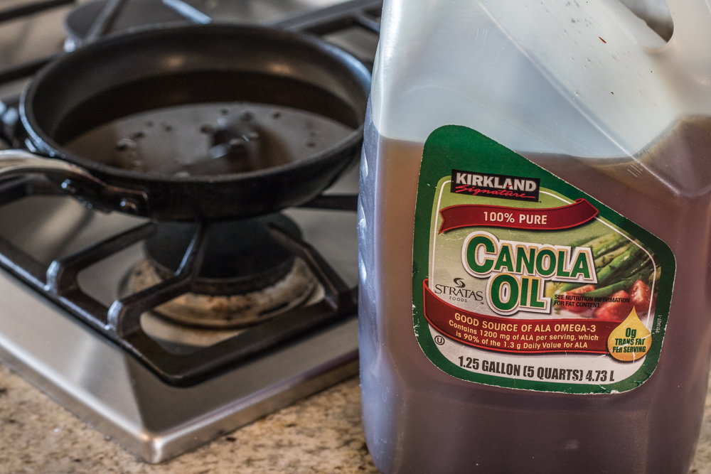 The Best Taco Shells - Used Canola Oil
