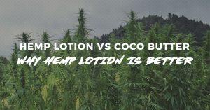 Hemp Lotion vs Coco Butter